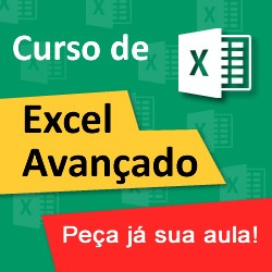 Curso Excel Avançado Onlin - Aula Particular Excel Avançado Sp