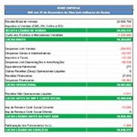 planilha excel gratis dre contabilidade lucrobruto lucro operacional lucroliquido receita bruta vendas receita liquida modelo dre exemplo