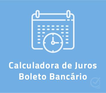 capa planilha calculadora de juros boleto bancário vencido