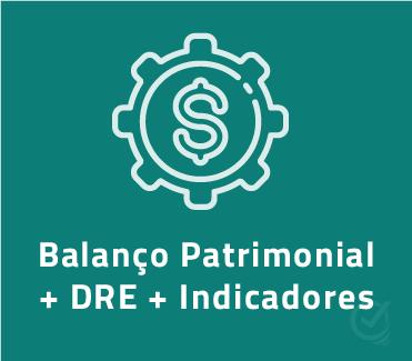 Planilha Indicadores Financeiros Balanco Patrimonial Dre