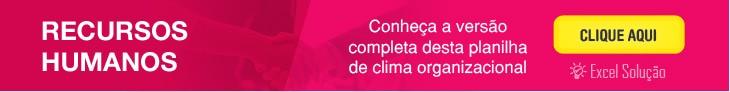 Planilha gratis modelo de pesquisa e formulario - Questionário Clima Organizacional
