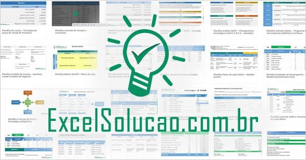 Lista Completa – Planilhas Gratis Excel