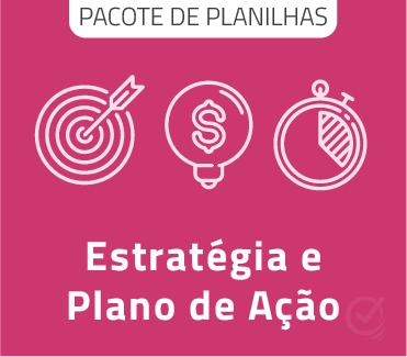 Pacote de Planilhas de Estratégia e Plano de Ação em Excel