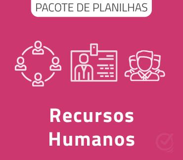 Pacote De Planilhas Para Gestão De Recursos Humanos Em Excel