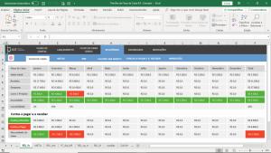 Planilha de Fluxo de Caixa em Excel Controle Financeiro Empresarial