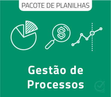 Pacote de Planilhas: Mapeamento e Gestão de Processos