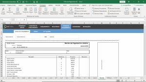 Planilha Folha de Pagamento em Excel - Gestão de Recuros Humanos