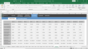 planilha de controle de horas extras excel relatorio