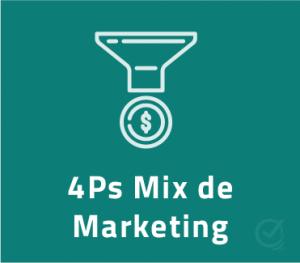 Planilha 4Ps do Marketing (Mix de Marketing) em Excel