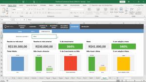 planilha de controle de clientes crm excel dashboard