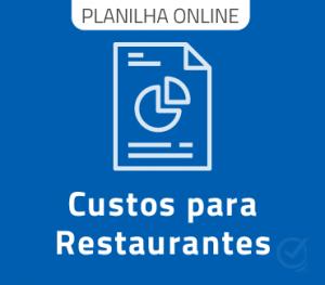 Planilha de Custos restaurante - Google Online