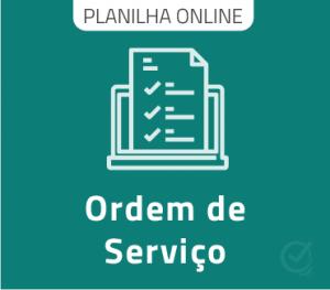 Planilha Google Ordem de Serviço Online