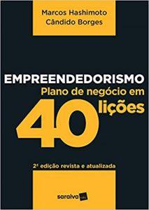 Capa Empreendedorismo: Plano de Negócio em 40 Lições